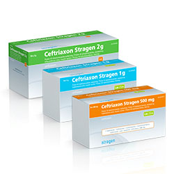 Ceftriaxon Stragen